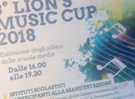 Presidente di Giuria al 3° Lion's Music Cup, 2018.